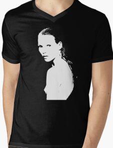 Kate Moss Mens V-Neck T-Shirt
