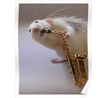 My new Saxophone! Poster