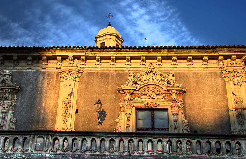 Palazzo Biscari, Catania by Andrea Rapisarda
