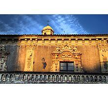Palazzo Biscari, Catania Photographic Print