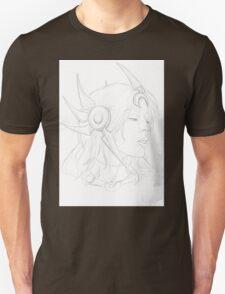 Leona portrait Unisex T-Shirt