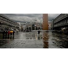 Piazza San Marco Venice Photographic Print