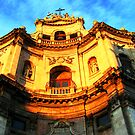 San Placido church, Catania by Andrea Rapisarda