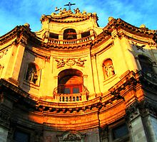 San Placido church, Catania by Andrea Rapisarda