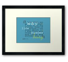 Another Way Framed Print