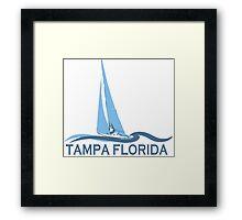 Tampa - Florida.  Framed Print