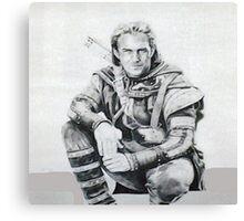 KEVIN COSTNER ROBIN HOOD Canvas Print