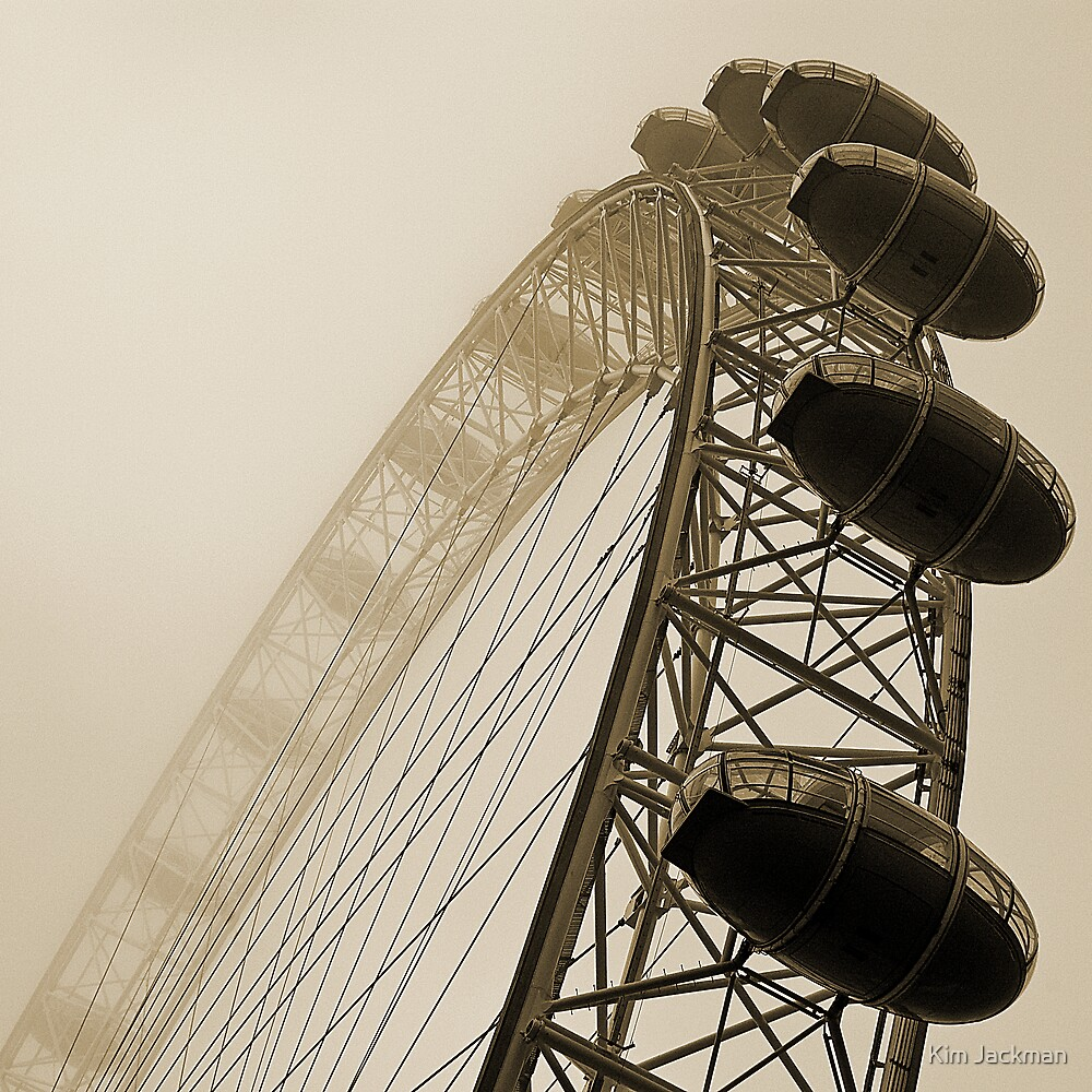 London Eye by Kim Jackman
