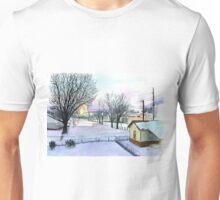 Backyard Ice Rink Unisex T-Shirt