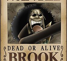 Wanted Brook - One Piece by Amynovic