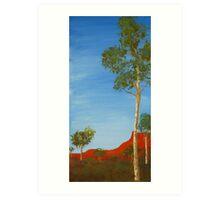 Australian outback Art Print