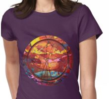 Discographical Womens Fitted T-Shirt