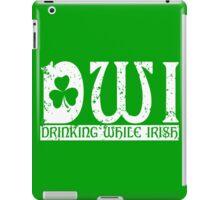 DWI Drinking While Irish grunge look iPad Case/Skin