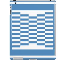 Blue Design iPad Case/Skin