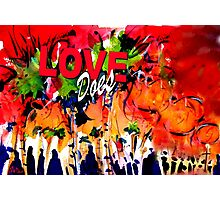 Love Does Palm Sunday Photographic Print