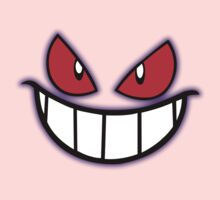 Gengar Monster Purple Pokeball Baby Tee