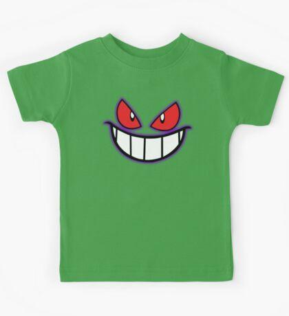 Gengar Monster Purple Pokeball Kids Tee