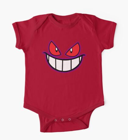 Gengar Monster Purple Pokeball One Piece - Short Sleeve