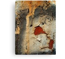 Revealed Red Canvas Print