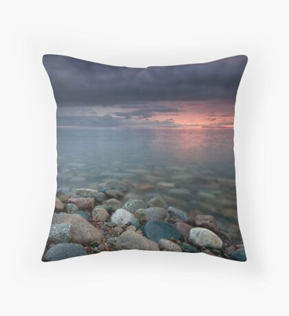 Sunrise St Ann's Bay Cape Breton Throw Pillow