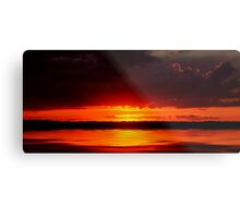 manipogo sunset Metal Print