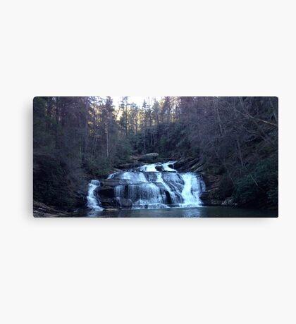 Waterfall panther creek Canvas Print