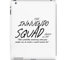 The Innuendo Squad - Est. 2005 iPad Case/Skin