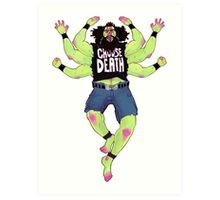 choose death Art Print