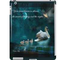 Your heart knows iPad Case/Skin