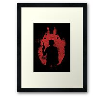 Han's Falcon Framed Print