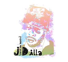 Rest in Beats J Dilla Photographic Print
