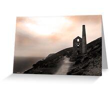 Cornish Mine Greeting Card