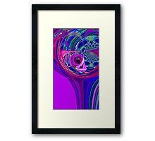 spherical hole Framed Print