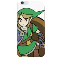 Smash Brothers Green Link iPhone Case/Skin