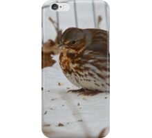 Fox Sparrow iPhone Case/Skin