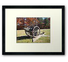Artillery Cannon Framed Print