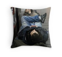 Sleepers Throw Pillow