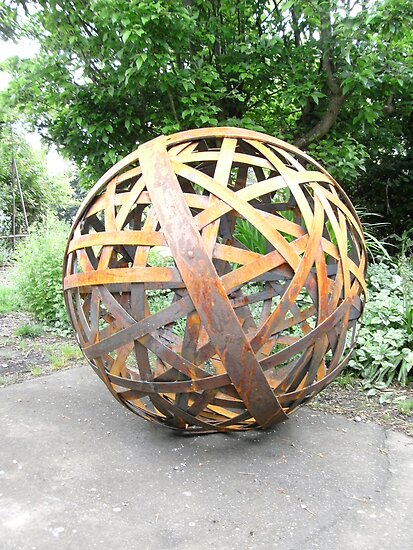 Sculpture/Garden Orb by John O'Dal