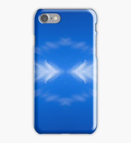 Clouds mirror blue sky  iPhone Case/Skin