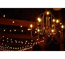 Old Timey Lightbulbs Photographic Print