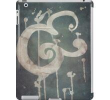 Ampersand in Blue : v.01 iPad Case/Skin