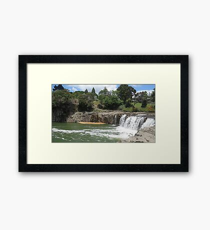 A Watery Landscape. Framed Print