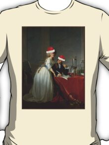 Antoine-Laurent Lavoisier (1743–1794) and His Wife (Marie-Anne-Pierrette Paulze, 1758–1836) Jacques Louis David  T-Shirt