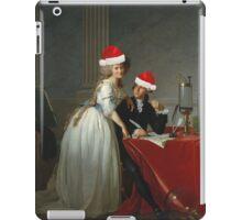 Antoine-Laurent Lavoisier (1743–1794) and His Wife (Marie-Anne-Pierrette Paulze, 1758–1836) Jacques Louis David  iPad Case/Skin