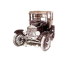 1920's Ford Car Photographic Print