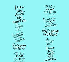 These Books Have Legs -- Booklover Leggings by deborahsmith