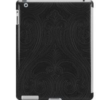 Black kashmir iPad Case/Skin