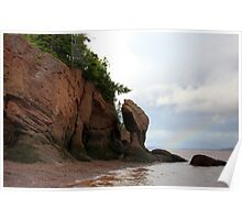 Hopewell Rocks Poster