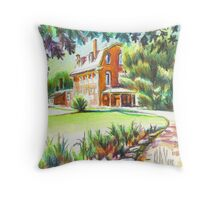 Summertime at the Ursuline Throw Pillow