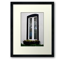 Whos looking in my window!!!!!!!!!!!!!! Framed Print